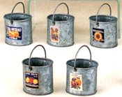 Galvanized Watering Cans and Buckets