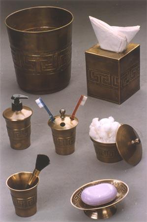 Bathroom Accessoreies In Antique Copper Finish Accessories Br And Silver