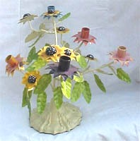 Floral Tree Candle Stand 5 Lites