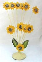 Sun Flower Card Holder]