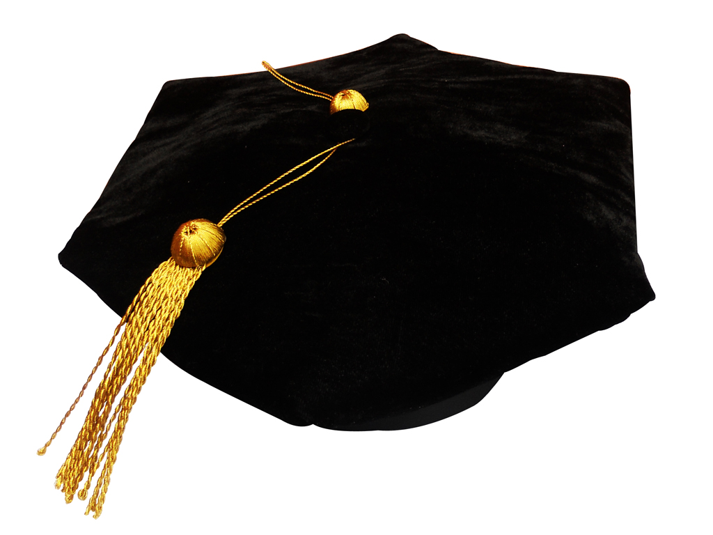 Graduation Tam in Velvet