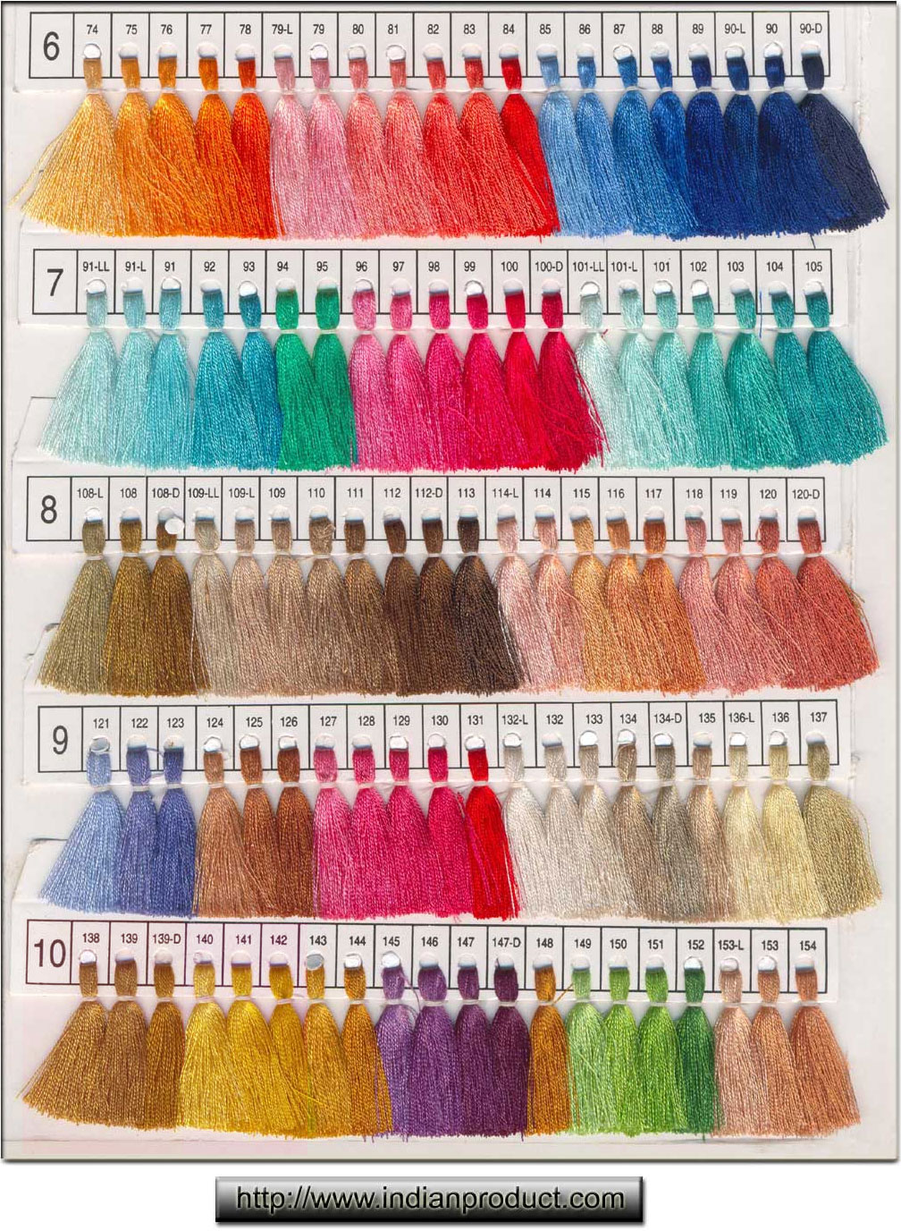 Color Chart Indianproduct Com