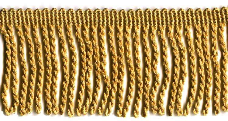 2 BULLION FRINGE,FLAG GOLD 6 YDS